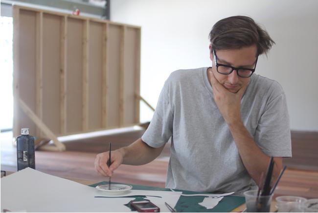Andrzej Nowicki - at work