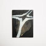 Angeloca Roache-Wilson, Brown object, 2015, Oil on board, 28 x 19 cm